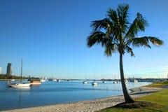 Broadwater Gold Coast stock image