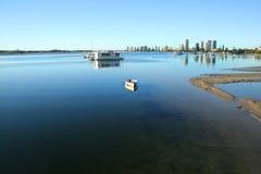 Broadwater Gold Coast stockfotos
