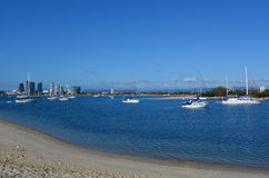 Broadwater la Gold Coast Queensland Australia Fotografia Stock