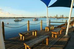 Broadwater Observation Deck Stock Image