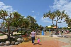 Broadwater Parklands -英属黄金海岸澳大利亚 免版税图库摄影