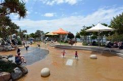 Broadwater Parklands -英属黄金海岸澳大利亚 免版税库存图片