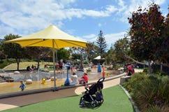 Broadwater Parklands -英属黄金海岸澳大利亚 库存照片