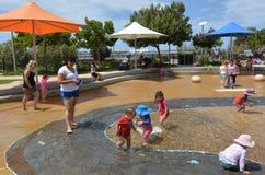 Broadwater Parklands - Gold Coast Australien Arkivfoto