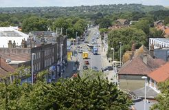 Broadwater from St Marys Tower. Sussex. England Stock Photos