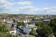 Broadwater from St Marys Tower. Sussex. England Royalty Free Stock Images