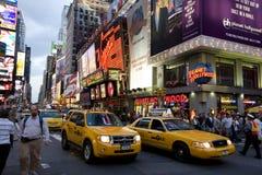broadway市纽约 免版税库存图片