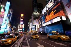 broadway纽约 库存图片