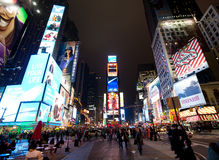 broadway纽约 免版税库存图片