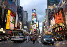 broadway纽约 免版税图库摄影