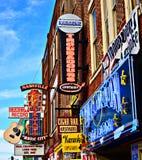 Broadway Νάσβιλ Στοκ Εικόνες
