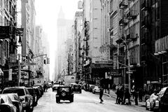 Broadway, Νέα Υόρκη Στοκ Εικόνες