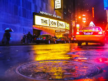 Broadway: Ο βασιλιάς λιονταριών στοκ φωτογραφίες με δικαίωμα ελεύθερης χρήσης