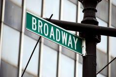 Broadway Immagini Stock