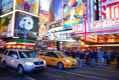 Broadway Royalty Free Stock Photography