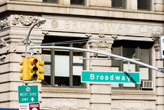 Broadway Photo stock