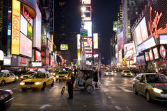 Broadway. Image of Broadway, New York city , night royalty free stock photo