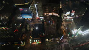 Broadway Aerial stock video
