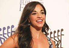 Broadway aktris Ana Villafane Royaltyfria Bilder