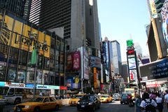 Broadway Avenue in New York City stock photography