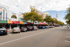 Broadway Avenue Palmerston North Royalty Free Stock Images