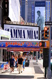Broadway Billboards stock photo