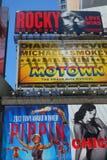 Broadway Billboards Stock Photography