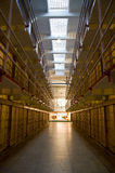 Broadway Cell Block at Alcatraz Royalty Free Stock Photography
