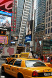 Broadway in de Stad van New York Stock Foto's