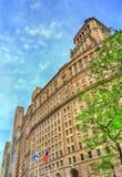 26 Broadway, en historisk byggnad i Manhattan, New York City Byggt i 1928 Royaltyfria Foton