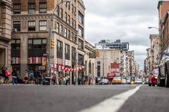 Broadway en New York City Imagen de archivo