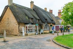 Free Broadway In Cotswolds, UK Royalty Free Stock Photography - 160048887