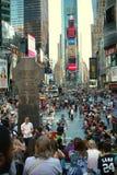 Broadway manchmal quadratisches New York stockbild