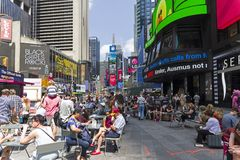 Broadway. Manhattan, New York. Royalty Free Stock Photography