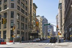Broadway, Manhattan, NYC. Royalty Free Stock Images