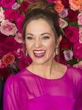 Laura Osnes at the 2018 Tony Awards Stock Image