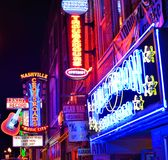 Broadway Nashville Royalty Free Stock Images