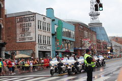 Broadway in Nashville, Tennessee Royalty Free Stock Photos
