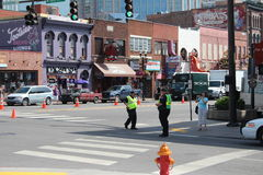 Broadway in Nashville, Tennessee Stock Image