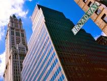 Broadway New York Stock Photo