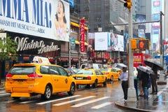 Broadway New York arkivbilder