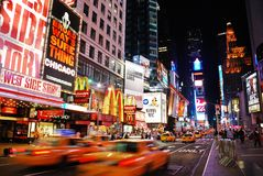 Broadway, New York City Stock Photos