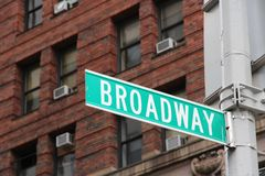Broadway Stock Images