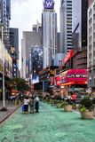 Broadway New York City, USA Royaltyfria Foton
