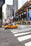 Broadway New York City, USA Royaltyfria Bilder