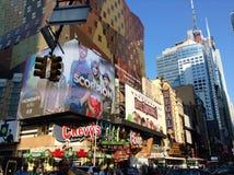 Broadway NY arkivfoton