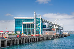 Broadway Pier in Dowtown San Diego Royalty Free Stock Photos