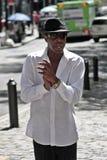 Broadway piosenkarz Zdjęcie Stock