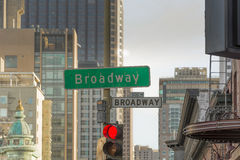 Broadway in San Francisco Royalty Free Stock Images