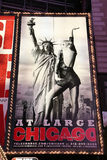 Broadway show advertisements Stock Images